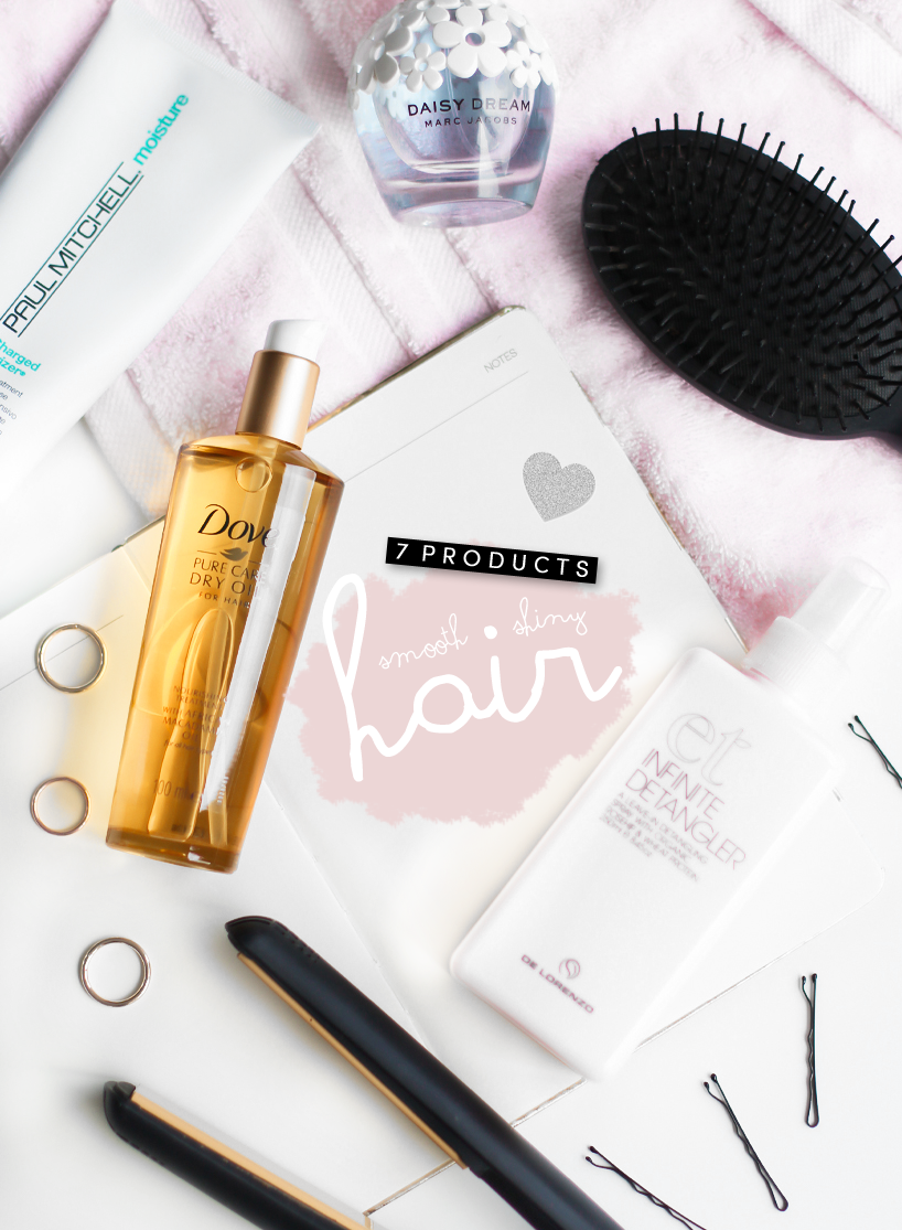 7 Products For Smooth, Shiny Hair