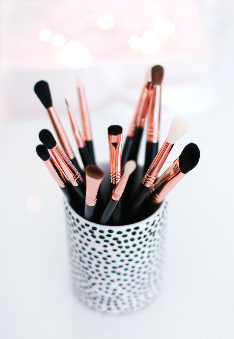The Ultimate Copper Eye Brush Set