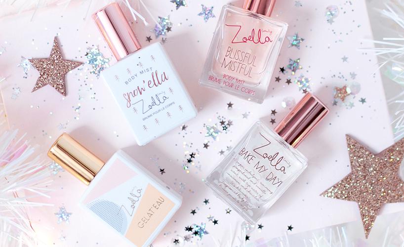 Zoella Beauty Christmas Mini Mists