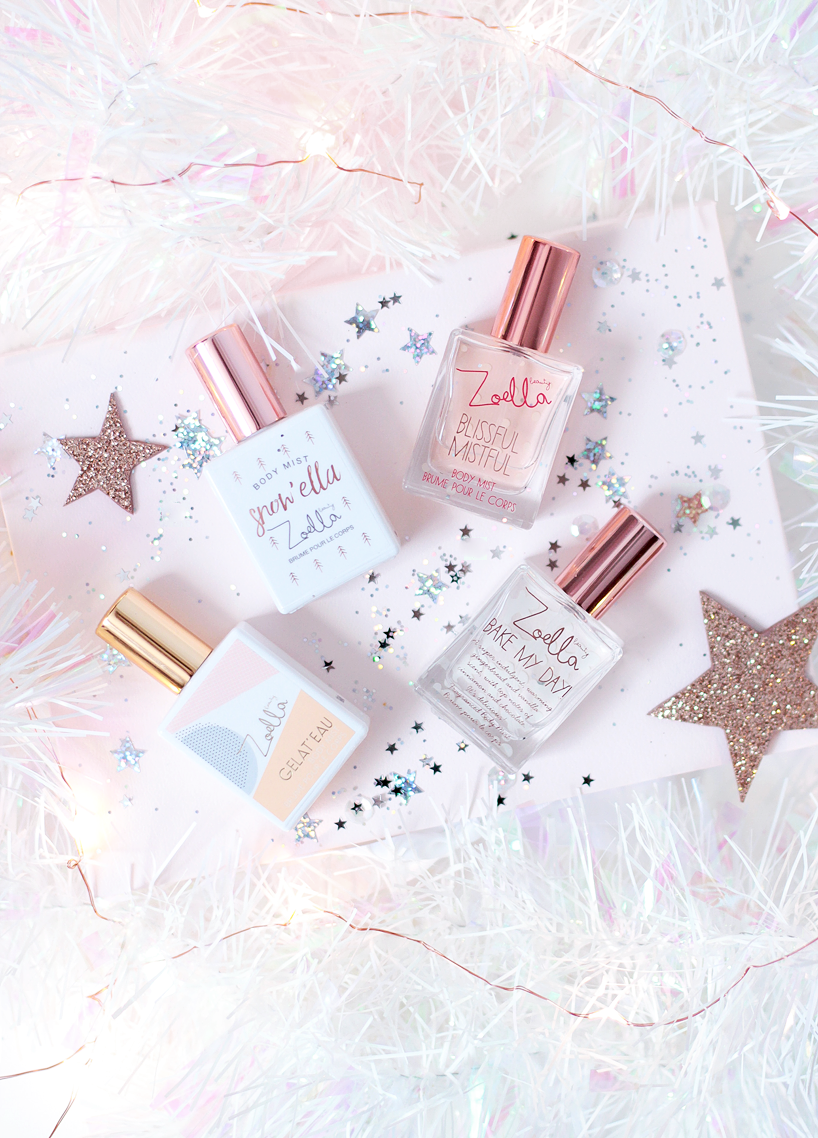 Zoella Beauty Christmas Mini Mists