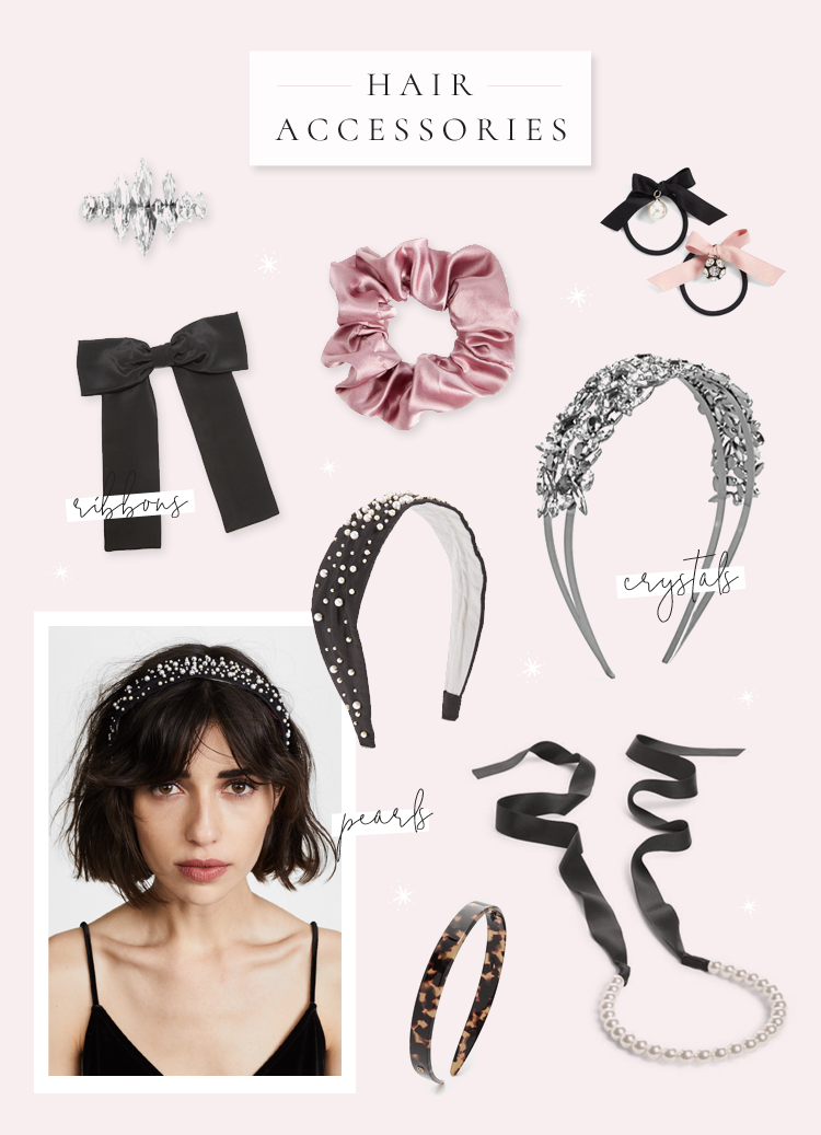 hair accessories trends 2018