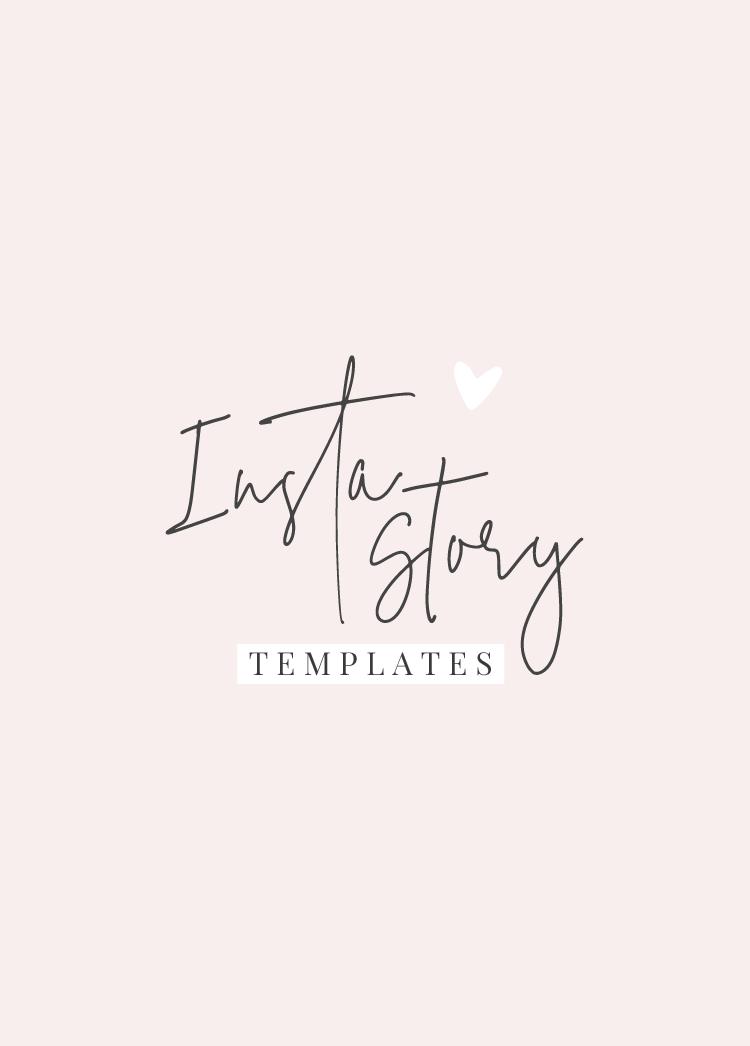 Pretty Instagram Story Templates