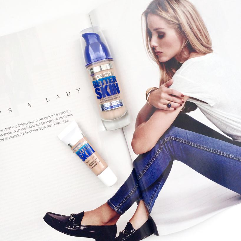 Maybelline SuperStay Better Skin Foundation + Concealer