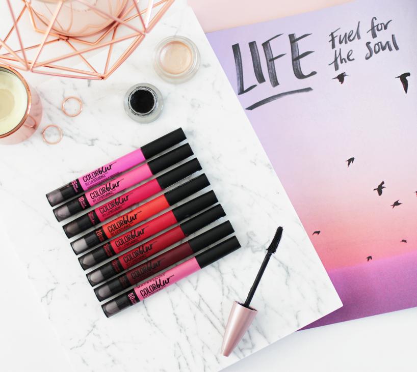 Maybelline Color Blur Matte Pencils