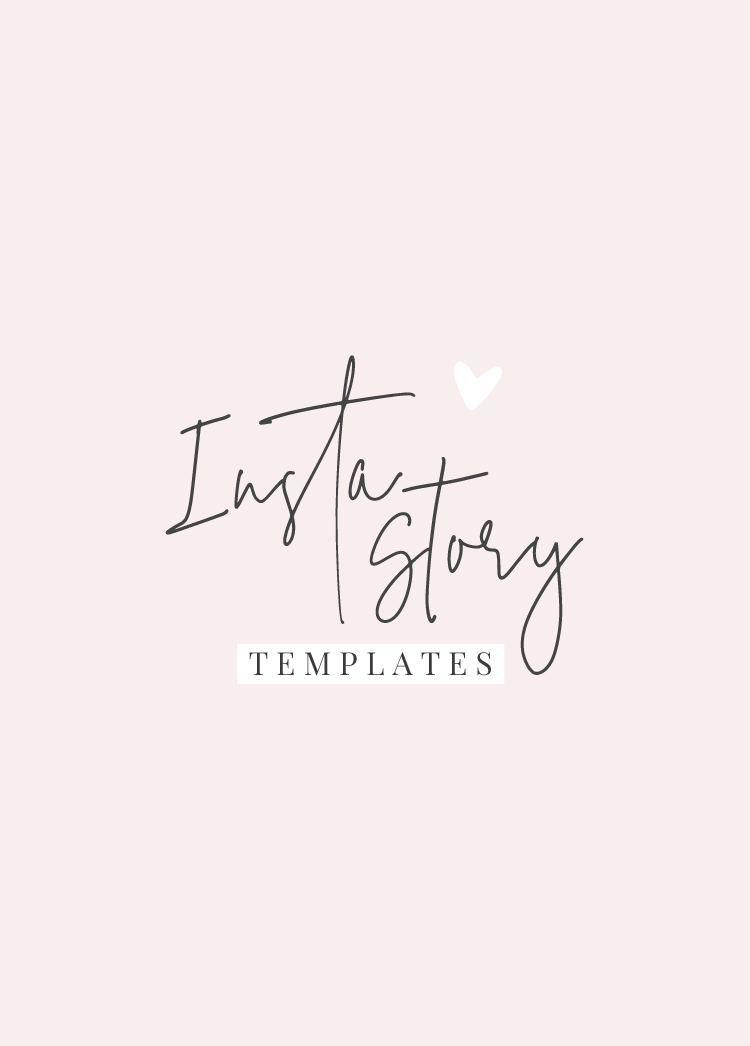 Pretty Instagram Story Templates